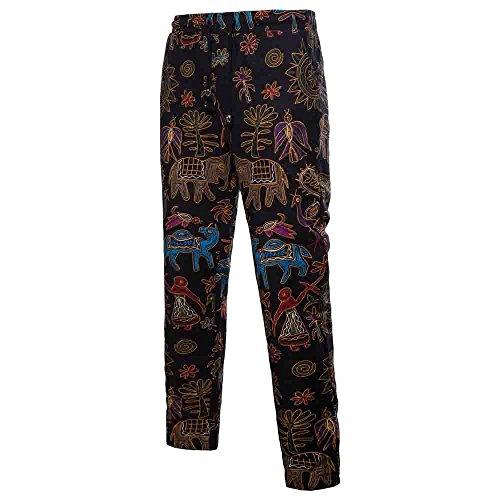 Herfst winter broek heren FRAUIT mannen jogger broek persoonlijkheid afdrukken vrije tijd heren nadelstrepen stoffen broek jogging pants 7/8 slim fit warme zijdezachte broek jeans jeans jeansbroek broek broek