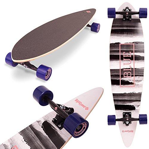 Street Surfing Pintail 40 Longboard Unisex Erwachsene, Surf Up