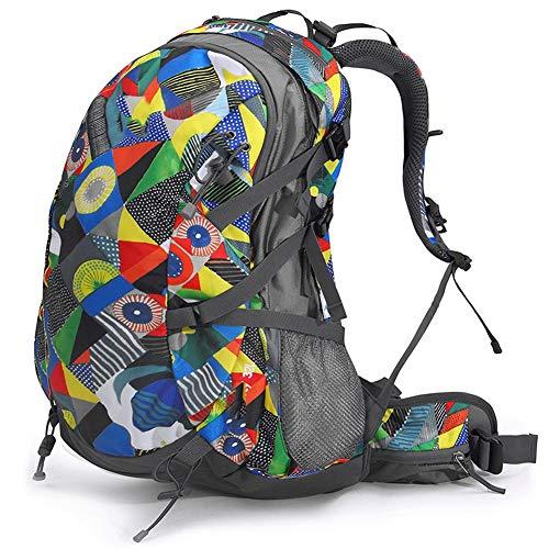 BCXS Camping Rucksack Wandern Tagesrucksäcke Outdoor Abenteuer Wandern Camping Ausrüstung Reisen Überleben Funktionell, wasserdicht und verschleißfest-Style2