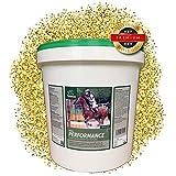 EMMA® Aufbaufutter Pferde I Pferdefutter B-Vitamine Selen & Zink I Vitamin A,C,E + Soja I Gewicht...