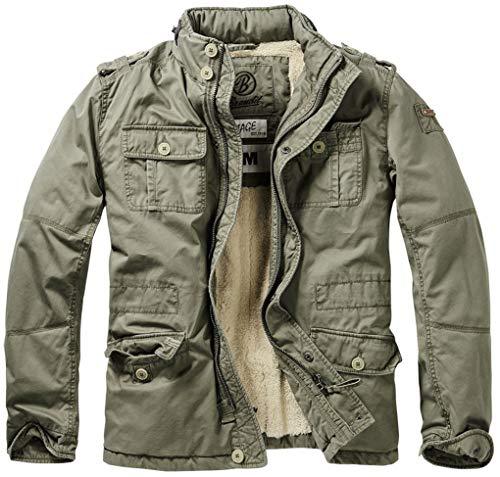 Brandit Britannia Winter Jacke Oliv S
