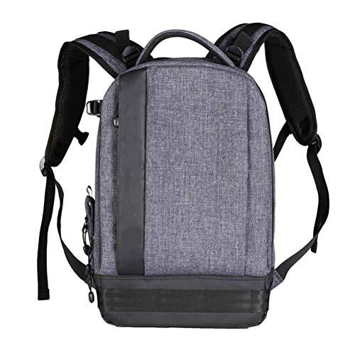 WUHUAROU Fashion Multifunctional Bag Waterproof Camera Photo Backpack Big Size Laptop Bags SLR