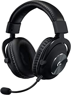 Logitech 981-000818 G PRO X Gaming Headset with Detachable Pro-Grade Microphone - Black