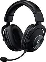 Logitech G PRO X Gaming Headset (2nd Generation) with Blue VO!CE, DTS Headphone:X 7.1 and 50 mm PRO-G Drivers (for PC, PS4...