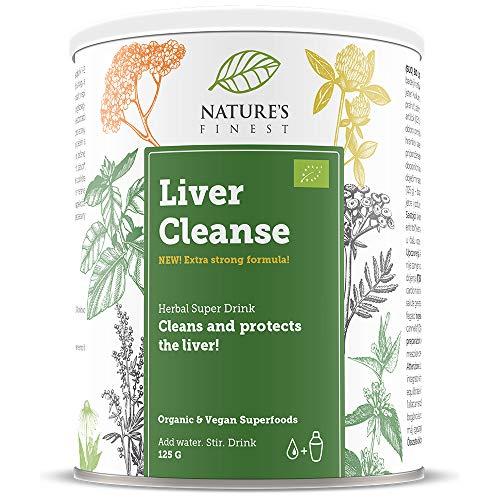Nature's Finest Leberreinigungspulver 125 g | Natürliche Mischung aus 4 Supernahrungsmitteln für die Leberreinigung | Vegan und Vegetarisch