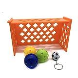 ueetek Oiseaux Intelligence Jouet Mini terrain de football d'entraînement pour perroquet Parrot (couleur aléatoire)