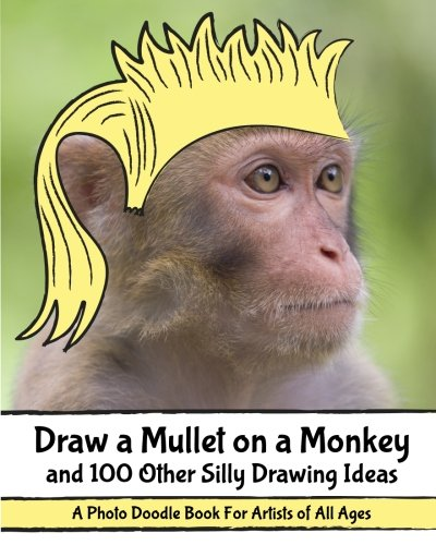 Draw a Mullet on a Monkey and 100 Other Silly Drawing Ideas: A Photo Doodle Book For Artists of All Ages