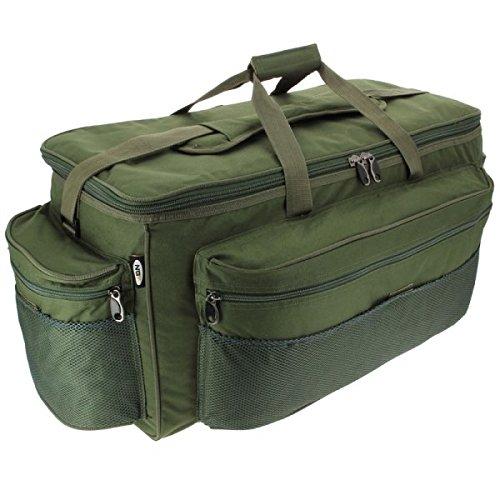 XXL Grüne Angeltasche zum Karpfenangeln Holdall NGT 093L Barrow Bag