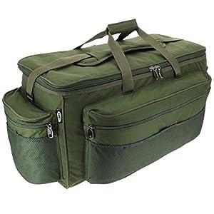 XXL Green Carp Fishing Tackle Bag Holdall NGT 093L BARROW BAG
