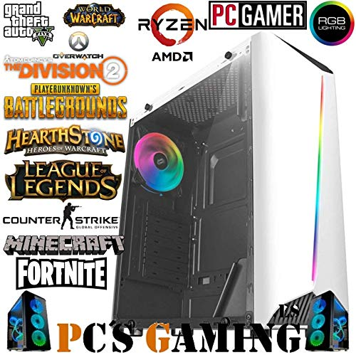 PC'S GAMING - PC Gamer *Rebajas Abril (CPU 4 X 3,70Ghz, T. Gráfica NVIDIA GTX 1660 6GB, HDD 2TB, Ram 16GB, Windows 10 64 Bits)+WiFi De Regalo. Pc Gaming, Pc Para Juegos, Ordenador Juegos