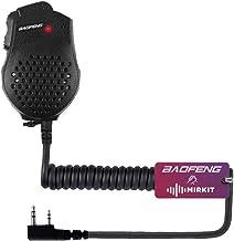 Original Baofeng UV-82 2 Dual PTT Speaker Mic Microphone for Baofeng UV-82 UV-82HP GT-5TP..