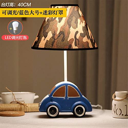 YU-K Car l'enfant modulable par LED lampe de bureau lampe de chevet chambre à coucher oeil créatif,cadeaux lampes garçons 25 * 40cm, camouflage