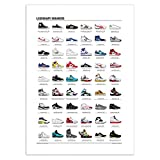 Wall Editions Art-Poster 50 x 70 cm - Legendary Sneakers -