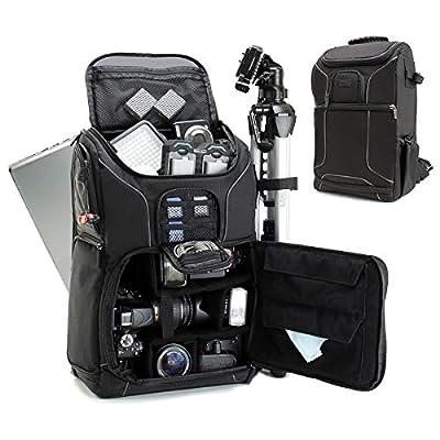 b6cebe4ddb USA GEAR Digital SLR Camera Backpack w 15.6