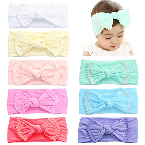 (60% OFF) Bow Headbands for Baby Girls $4.80 – Coupon Code