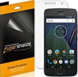 (6 Pack) Supershieldz for Motorola (Moto G5 Plus) and Moto G Plus (5th Generation) Screen Protector, High Definition Clear Shield (PET)