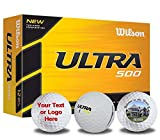 Personalized Wilson Ultra 500 Photo Golf Balls 12 Pack -