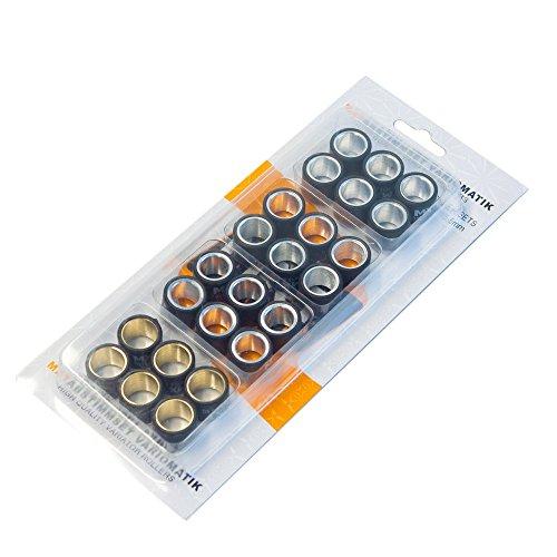 Abstimmset Variomatik Maxtuned 17x12mm - 5,5gr - 6,0gr - 6,5gr - 7,0gr