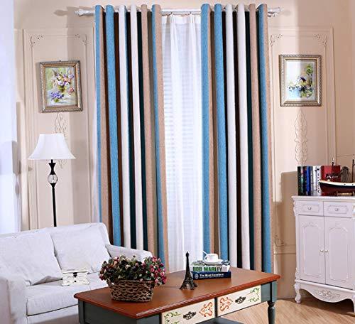cortinas opacas habitacion