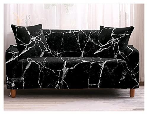 uyeoco Funda Sofa Elasticas 3/4/2/1 Plazas Fundas de Sofa Ajustables Fundas Decorativa para Sofá Estampadas Impresa Cubre Sofa (Color : D, Size : 1 Seater (90-140cm))