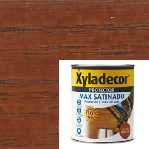 Xyladecor 61755000985 Lasur Satinado Protector MAX Teca 750 Ml, Multicolor