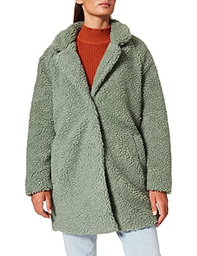 ONLY Damen ONLAURELIA Sherpa Coat OTW Jacket, Shadow, M