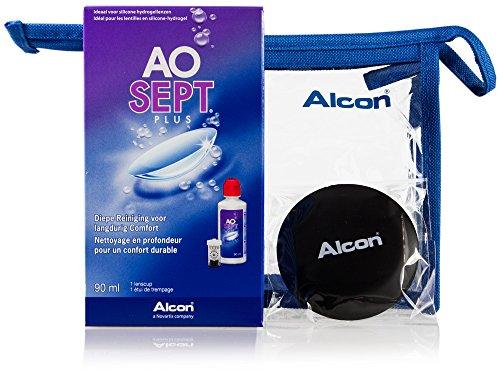 Aosept Plus Kontaktlinsen-Pflegemittel, Reise-Set, 1 x 90 ml