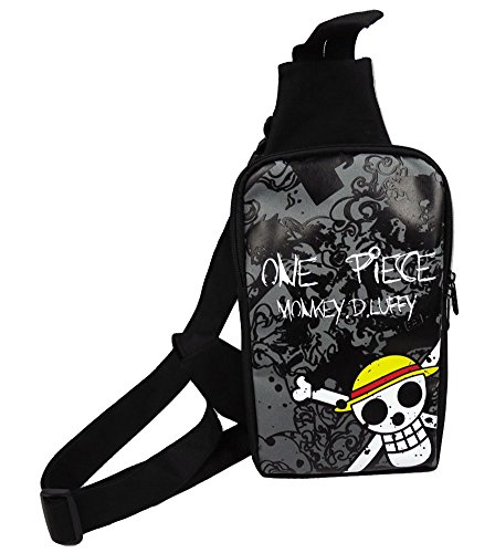 Gumstyle Anime One Piece Crossbody Sling Bags Backpack Rucksack Shoulder Bag Daypack Chest Bag Hiking