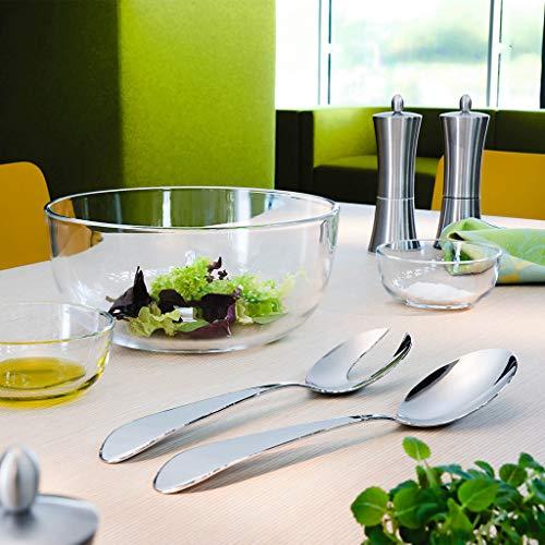 Villeroy & Boch Sereno XXL Couverts à salade, 2 pièces, Acier inoxydable