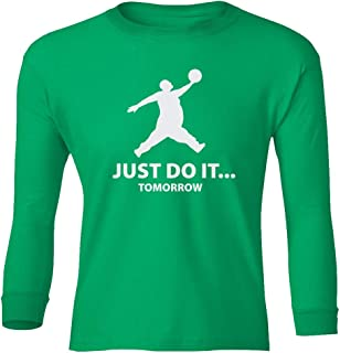 t shirt just do it tomorrow
