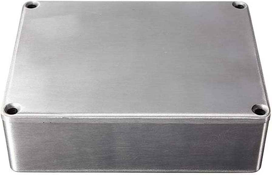 Accessoire instrument de p/édale effet de guitare de la s/érie 1590 en aluminium Stomp Box Enclosure