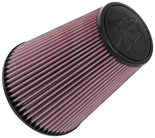 K&N Universal Clamp-On Air Filter: High Performance, Premium, Washable,...