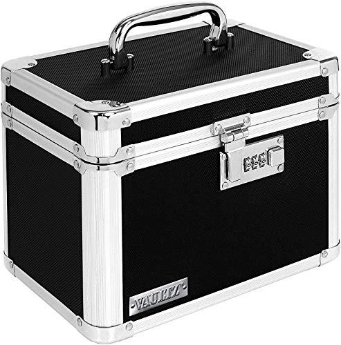 caja con candado fabricante Vaultz