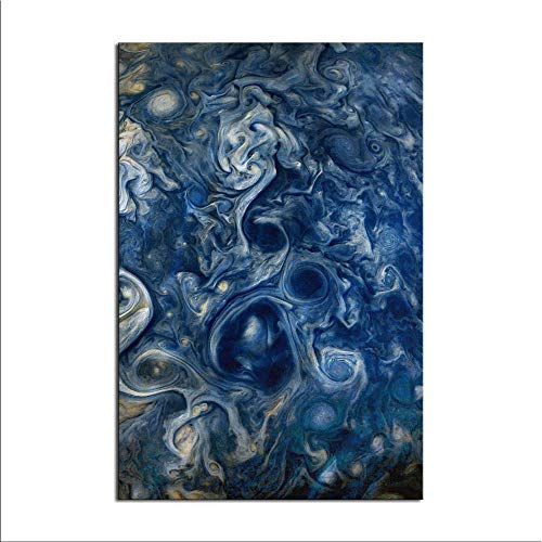 WENIN Jupiter Blues Canvas Art Poster and Wall Art Picture Print Modern...