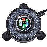 waysad Luz De Acuario Y Bomba De Aire De Acuario, Piedra De Aire para Acuarios Y Luces LED Que Cambian De Color Lámparas Coloridas Decorativas para Acuarios con Cambio De 7 Colores
