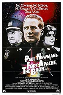 FORT APACHE THE BRONX (1981) Original Authentic Movie Poster - 27x41 One Sheet - Single-Sided - FOLDED - Paul Newman - Ken Wahl - Danny Aiello - Edward Asner