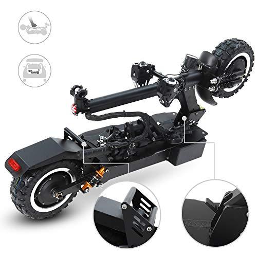 GUNAI Scooter Eléctrico Todoterreno Velocidad Máxima de Absorción de Choque Delantera y...