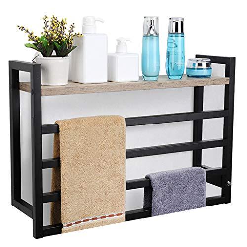 ZYY-Towel rack 50 W, Toallero EléCtrico, Tendedero Inteligente con Temperatura Controlada, Toallero EléCtrico Montado En La Pared para BañO, Estante para BañO
