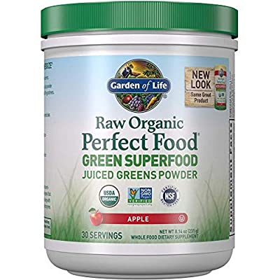 Garden of Life Fiber Supplement, Raw Organic Fiber Powder - 10 Servings, 15 Organic Superfoods, Probiotics