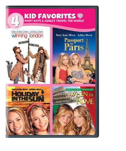 4 Kid Favorites: Mary-Kate & Ashley Travel the World (DVD)