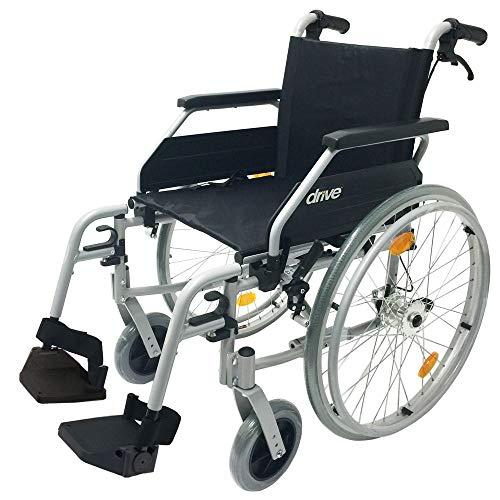 Drive Medical Leichtgewichtrollstuhl Litec 2G mit Trommelbremse 42 cm