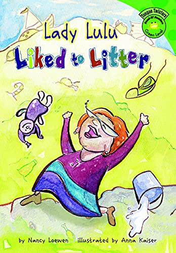 Lady Lulu Liked to Litter (Read-It! Readers: Tongue Twisters) (English Edition)