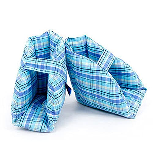 CXQD protección del talón Almohadilla del talón Protector del talón decúbito para Pacientes de Edad Avanzada Envoltura del pie