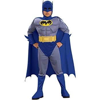 Rubies 883482M - Disfraz de Batman musculoso para niño (Talla M ...