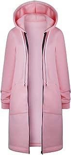Women's Winter Warm Coat, Women Warm Zipper Open Hoodies Sweatshirt Long Coat Jacket Tops Outwear