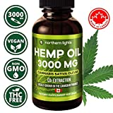 Organic Hemp Oil Extract 3000mg - Grown & Made in Canada 30mL For