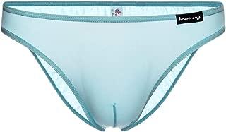 Men's Ice-Silk Underwear Stretch Breathable Low-Rise Bikini Briefs
