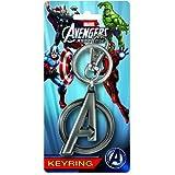 Marvel Los Vengadores Ensamble Logo estaño Llavero , color/modelo surtido