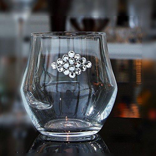 Verre de whisky Diamonds 450ml, transparent, verre, (GERMAN Cristal powered by CRISTALICA)