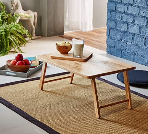 PJ Wood Folding Laptop Desk and Bed Tray Table...